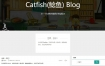 Catfish(鲶鱼) Blog系统 2.1.6