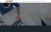网络建站工作室公司网站织梦dede模板源码[带手机版数据同步]