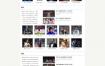 H5白色体育娱乐新闻门户网站织梦dede模板源码[自适应手机版]