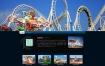 网站设备安装工程类织梦网站模板下载儿童娱乐机器设备源代码[带移动端]