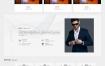 响应式网站创意餐馆酒店餐厅垂直行业设计装饰制造行业装饰设计设计类网站织梦移动网站模板dedecms织梦模板