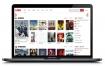 【苹果CMSV10影视模板】红白色大气响应式影视站模板自适应手机WAP端