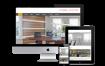 房地产企业,代理公司网站,织响应式梦模板(自适应手机端)