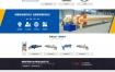 织梦蓝色营销型设备网站dede模板源码[带手机版数据同步]