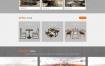 灰黑色书桌家具橱柜定制类网站织梦dede模板源码[带手机版数据同步]