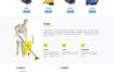 【织梦cms家政保洁企业模板】html5响应式清理家政保洁企业官网DEDECMS模版
