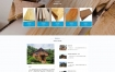 【易优cms企业模板】H5响应式网站木制建筑装饰材料建筑装饰公司网站源代码