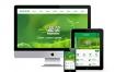 绿色蔬菜水果产品类网站织梦模板(带手机端),PC+wap+利于SEO优化