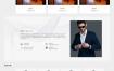 蓝色创意装饰设计企业网站织梦dede模板源码[自适应手机版]