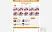 蛋糕西点烘焙培训学校网站织梦dede模板源码[带手机版数据同步]