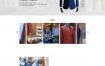 服装设计定做企业网站织梦dede模板源码[带手机版数据同步]