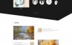 艺术艺考培训企业网站织梦dede模板源码[自适应手机版]