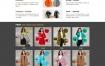 衣服服装设计生产企业网站织梦dede模板源码[自适应手机版]