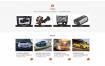 汽车零件汽车用品网站织梦dede模板源码[自适应手机版]