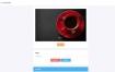 简洁大气的PHP抽奖网站系统源码带留言板功能
