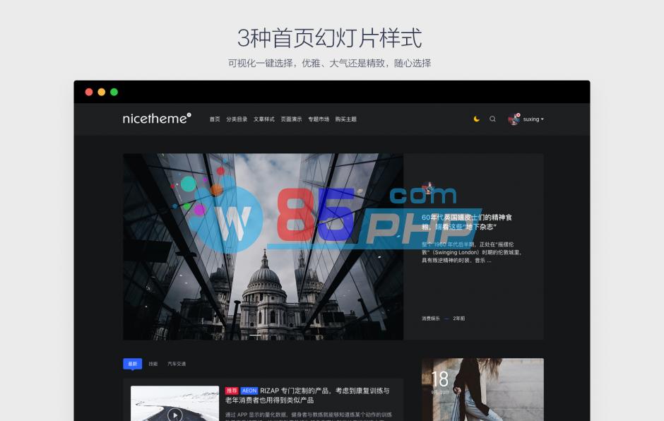 【移植PandaPRO主题】价值199元把PandaPRO博客文章模板放到Emlog系统中[Emlog模板]插图1