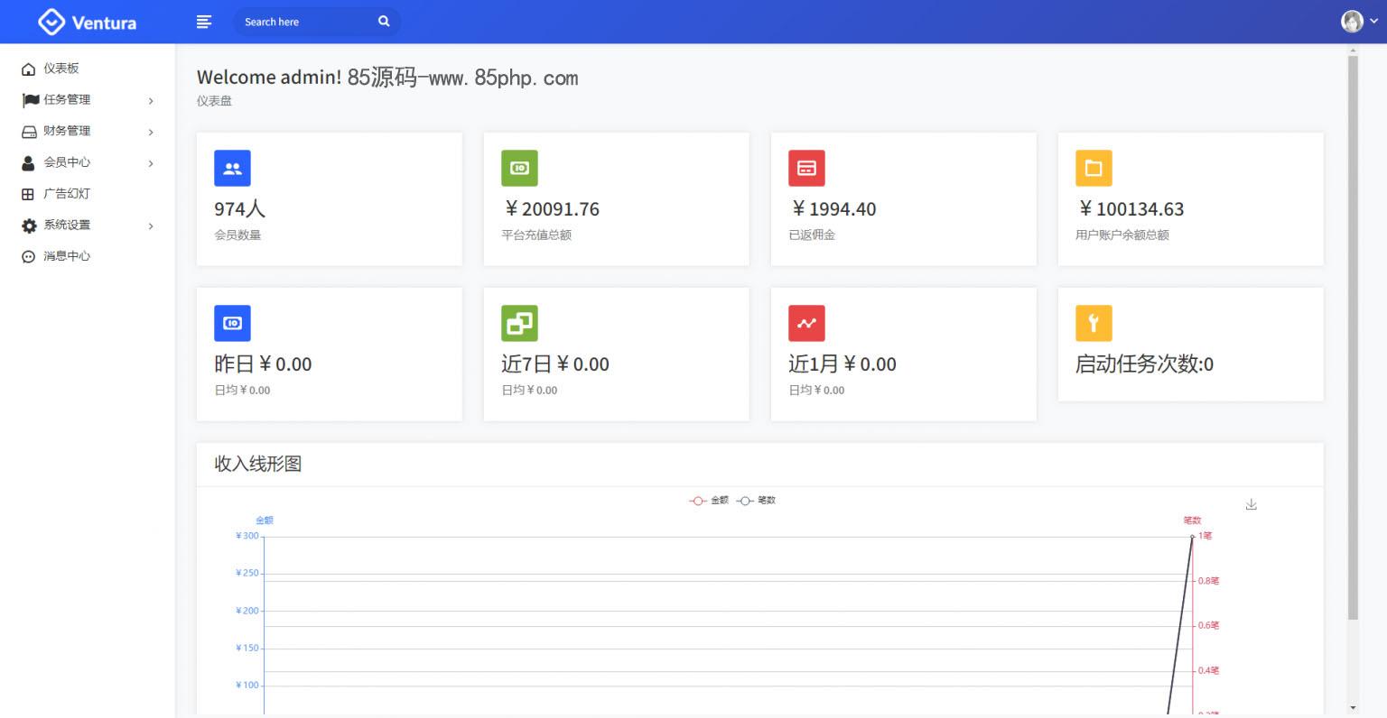 【抖音客】新版UI短视频点赞任务平台系统完美运营级别[等级功能+信誉积分+保证金]插图3